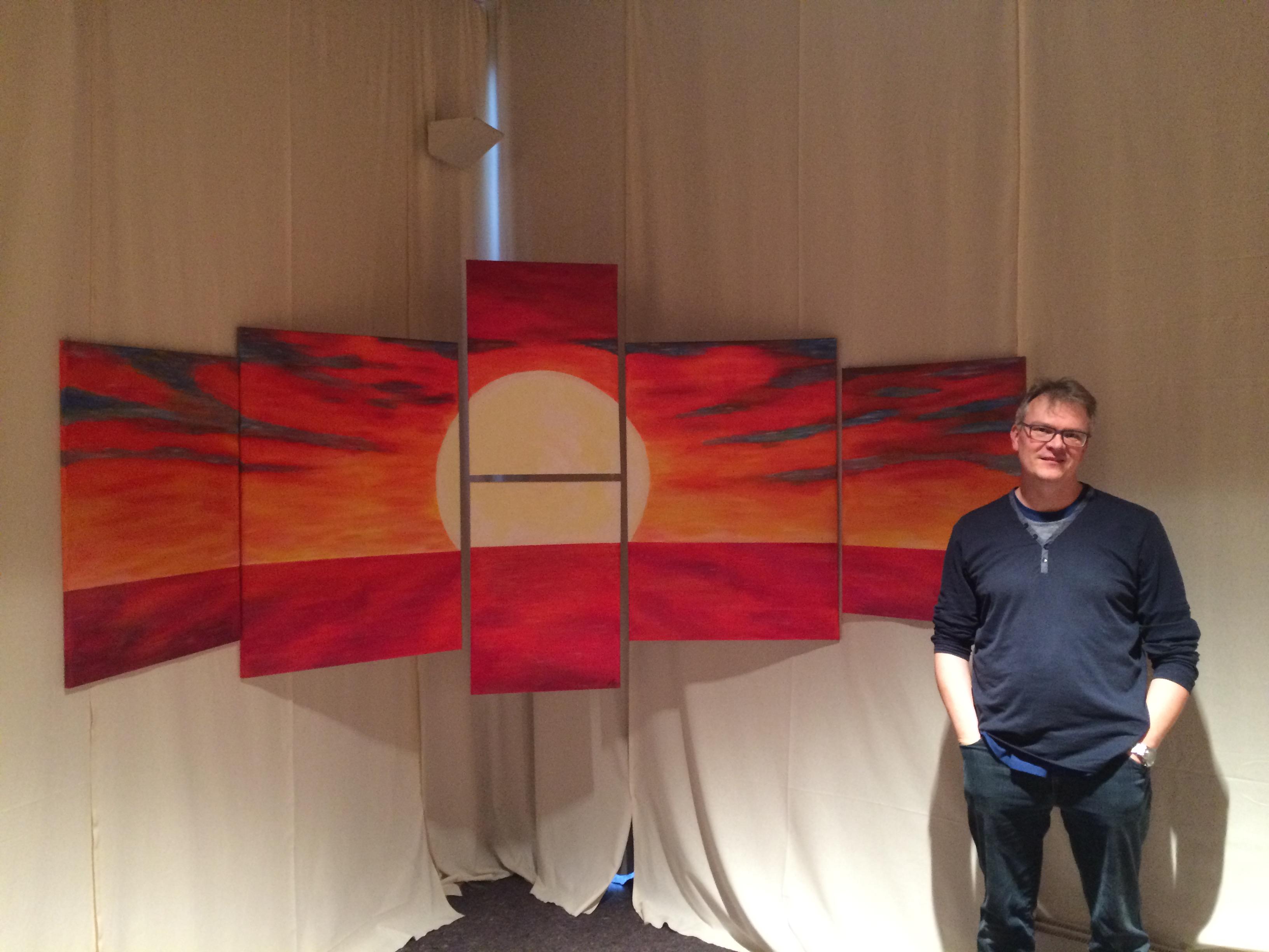 Bild für die Auferstehung mit dem Künstler
